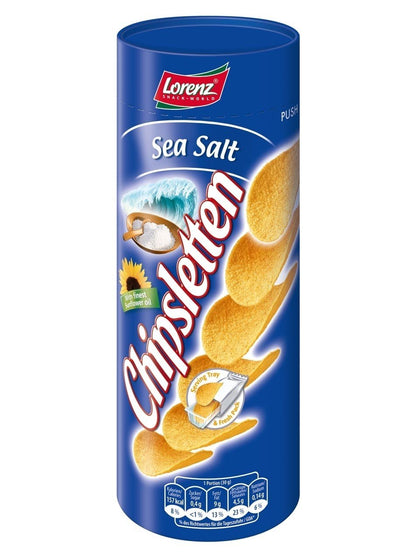 LORENZ SEA SALT CHIPSLETTEN 100G