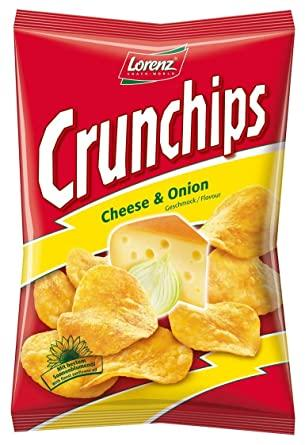 LORENZ CRUNCHIPS CHEESE & ONION 100G