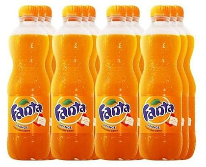 PACK  FANTA ORANGE PET 50CL