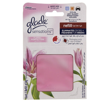 GLADE SENSATIONS FLORAL PERFECTION 8G