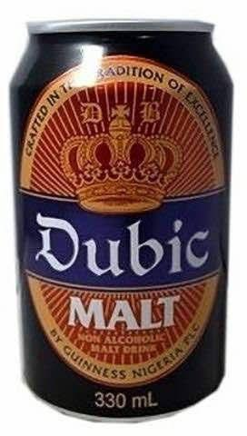 DUBIC MALT DRINK NON ALCOHOLIC CAN 330ML