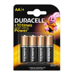 DURACELL AA 4'S