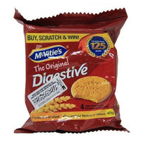 MCVITIES ORIGINAL  DIGESTIVES WHEAT 40G