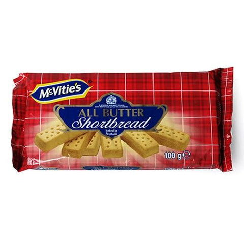 MCVITIES BUTTER SHORTBREAD 100G