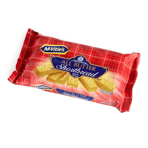 MCVITIES BUTTER SHORTBREAD 200G