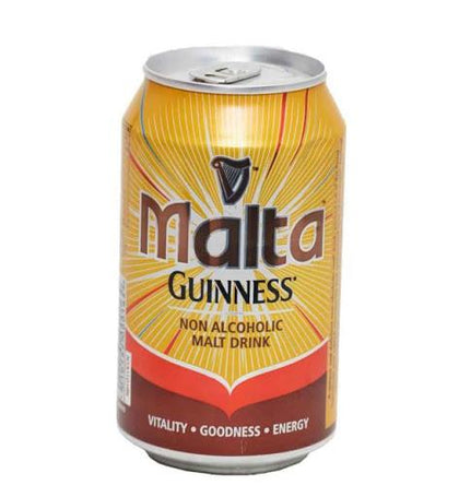 MALTA GUINNESS MALT DRINK NON ALC. CAN 330ML