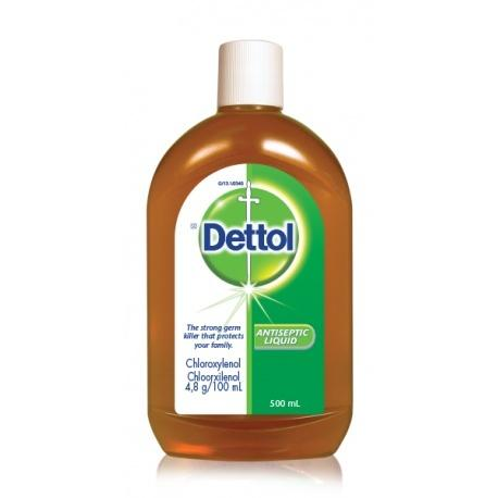 DETTOL LIQUID T/E 500ML