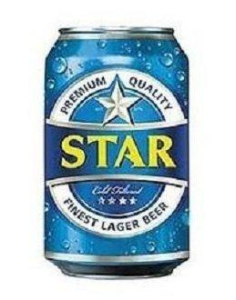 STAR PREMIUM LARGER BEER CAN 33CL