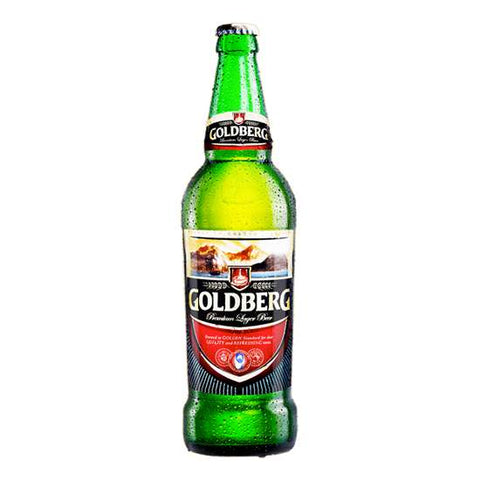 GOLDBERG PREMIUM LARGER BEER BOTTLE 60CL