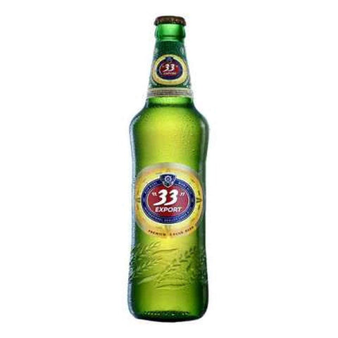 33 EXPORT PREMIUM LARGER BEER BOTTLE 60CL
