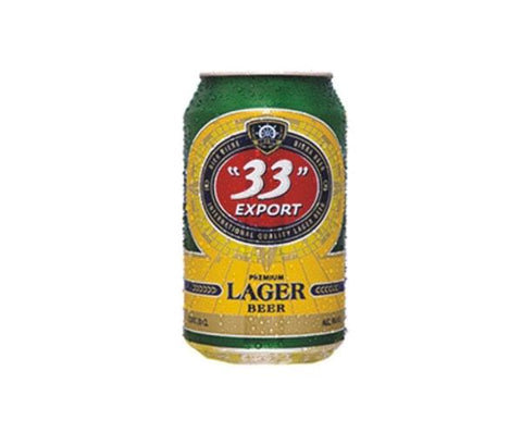 33 EXPORT PREMIUM LARGER BEER CAN 50CL