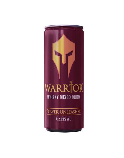 WARRIOR WHISKY MIXED DRINK CAN 250ML