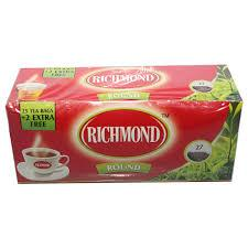 RICHMOND ROUND BLACK TEA