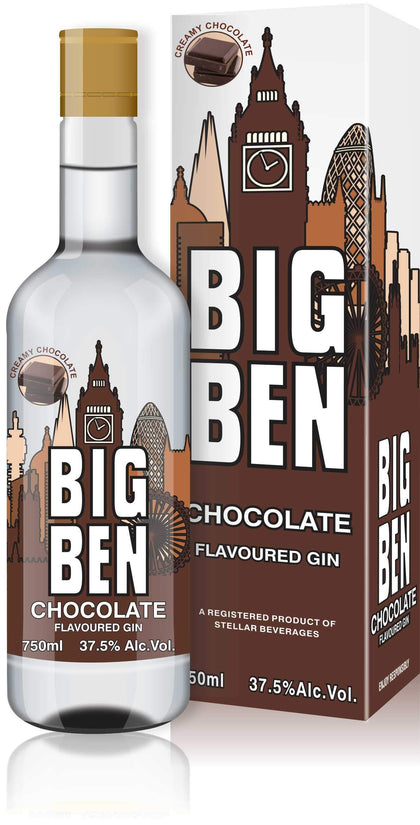 BIG BEN CHOCOLATE GIN 750ML