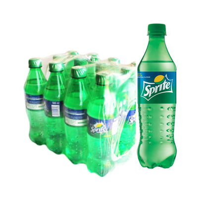PACK  SPRITE LEMON-LIME FLAVOURED PET 60CL