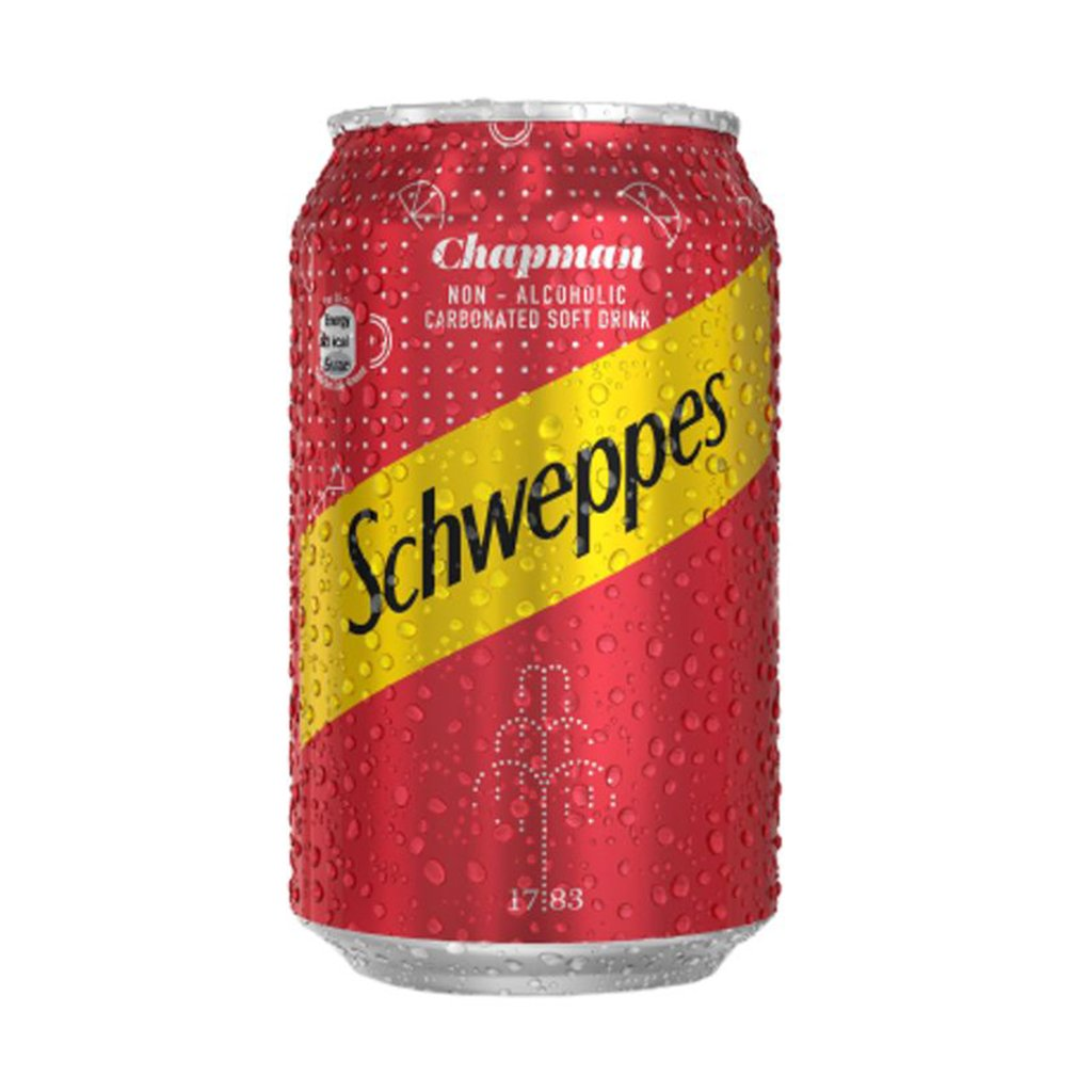 SCHWEPPES CHAPMAN CAN 33CL