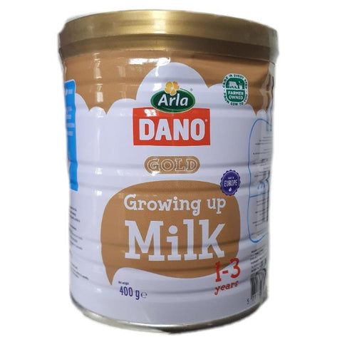 DANO GROWING UP MILK 1-3YEARS TIN 400G