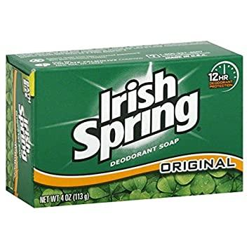 IRISH SPRING ORIGINAL DEODORANT SOAP 100G
