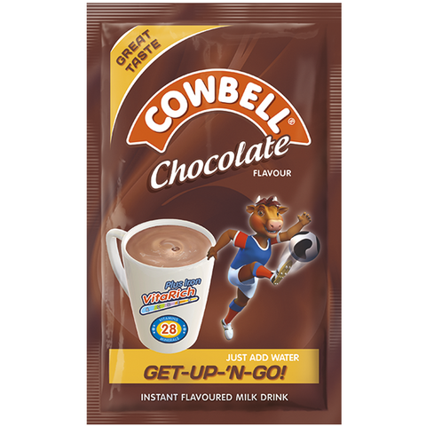 COWBELL CHOCOLATE  SATCHET  22.5G