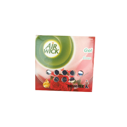 AIRWICK DRUMMER AIRWICK GEL ROSE 45G