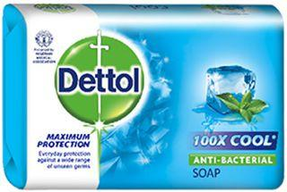 DETTOL ANTI-BACTERIAL COOL SOAP 110G