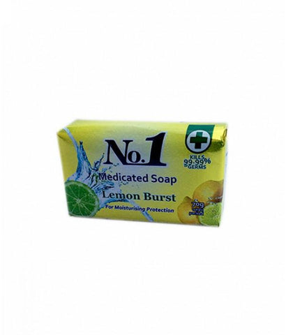 NO.1 SOAP LEMON BURST 70G