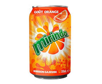 MIRINDA ORANGE CAN 330ML
