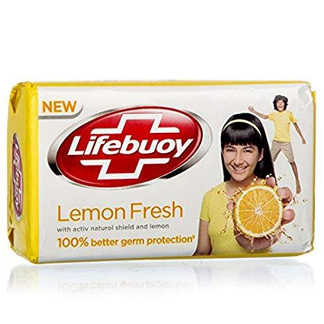 LIFEBUOY ANTI BACTERIAL LEMON FRESH BAR SOAP 110G