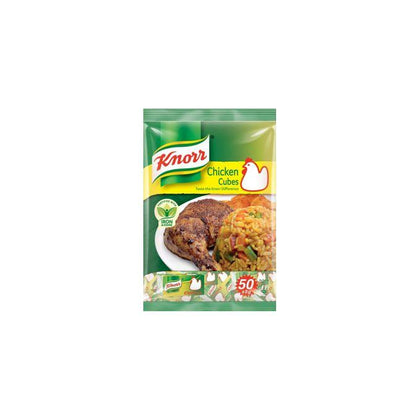 KNORR CHICKEN CUBE 50X8G
