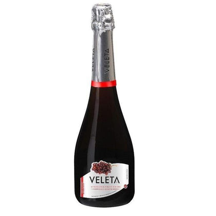 VELETA SPARKLING RED GRAPE FRUIT DRINK 75CL