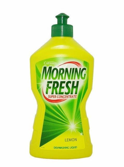 CUSSONS MORNING FRESH DISHWASHING LIQUID LEMON 450ML
