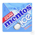 MENTOS ICE CHEWING GUM PEPPERMINT S/F 9PCS  13.05G