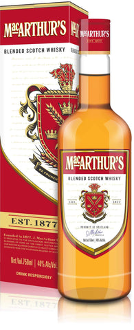 MACARTHUR'S BLENDED SCOTCH WHISKY