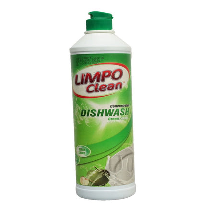 LIMPO CLEAN DISH WASH GREEN 500ML