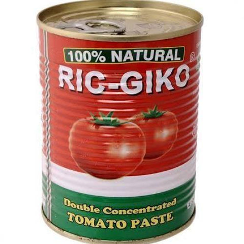RIC-GIKO DOUBLE CONCENTRATED TIN TOMATO PASTE 210G