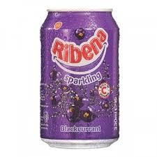 RIBENA SPARKLING BLACKCURRANT CAN  330ML