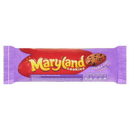 MARYLAND COOKIES DOUBLE CHOCO 136G