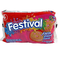 PACK FESTIVAL FRESA STRAWBERRY 4 COOKIES
