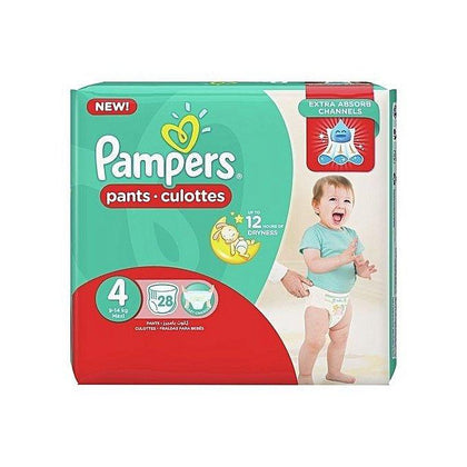 PAMPERS PANTS 4  MAXI 9-14 KG 28'S ECONOMY