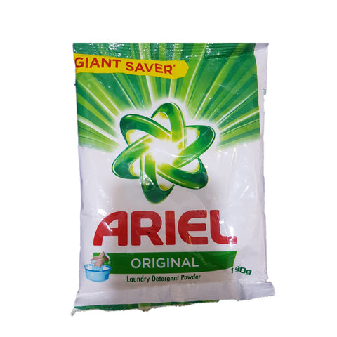 ARIEL ORIGINAL DETERGENT POWDER 190G