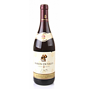 BARON DE VALLS VIN ROUGE RED WINE 750ML