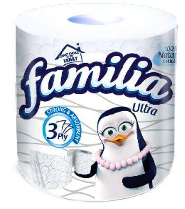 FAMILIA ULTRA STRONG ABSORBENT 3PLY SINGLE