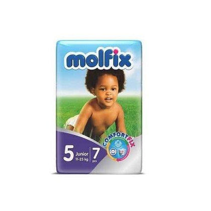 MOLFIX BABY DIAPER 5 JUNIOR 7PCS 11-25KG