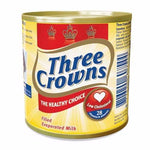 THREE CROWN FILLED EVAPORATED  MILK TIN  160G