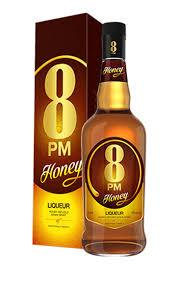 8PM HONEY LIQUER  750ML