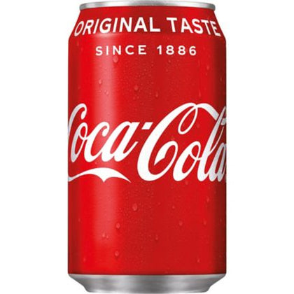 COCA COLA CAN 33CL