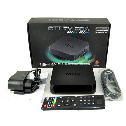 OTT TV BOX 4K ULTRA HD MXQ -4K