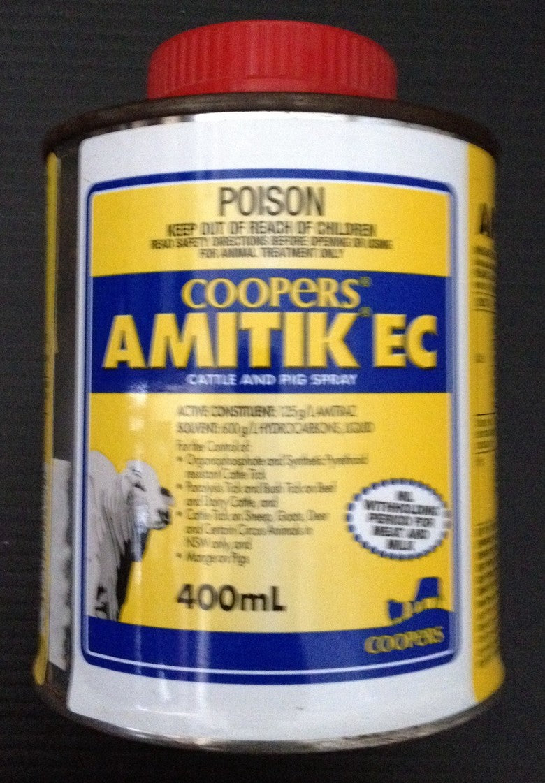 Amitik EC 400ml (or Amitraz)