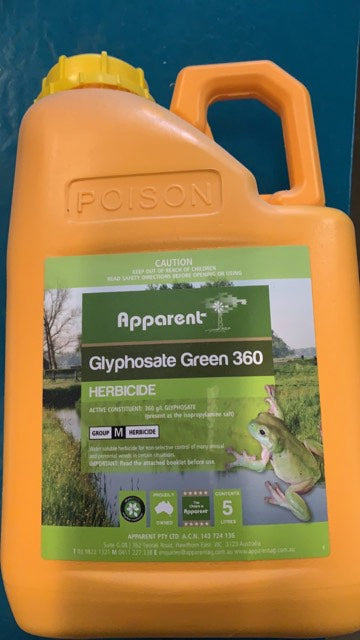 Apparant Weedkiller Gly360 5L