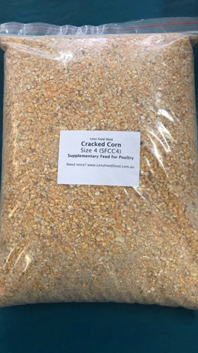 Cracked Corn/Maize Size 4